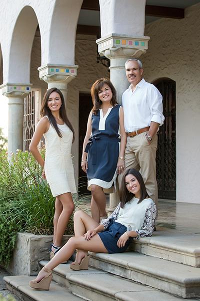 Dr. Arthur J. Hernandez & family